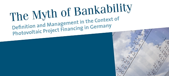 "Cover der Studie ""The Myth of Bankability"""
