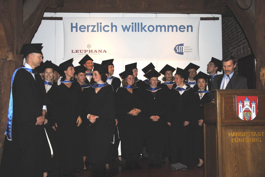 AbsolventInnen MBA Sustainability Management 2012