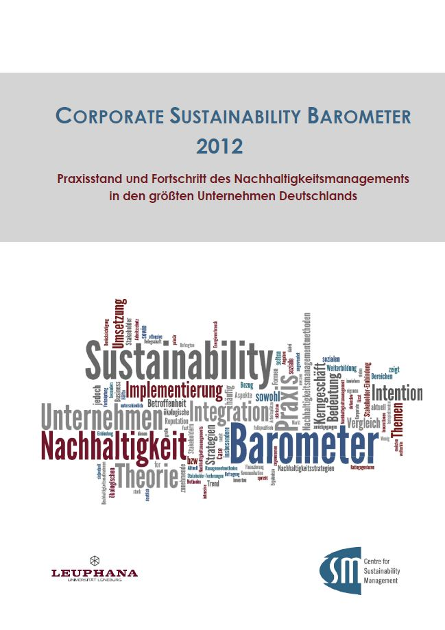 Corporate Sustainability Barometer Cover
