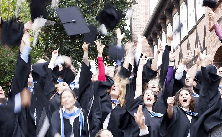 Abschlussfeier im MBA Sustianability Management 2014