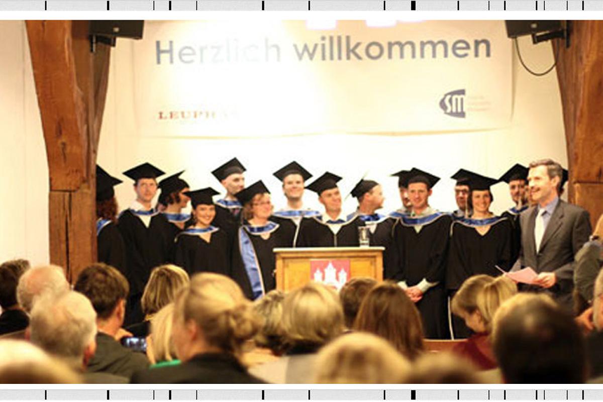 Absolventenverabschiedung im MBA Sustainability Management 2013