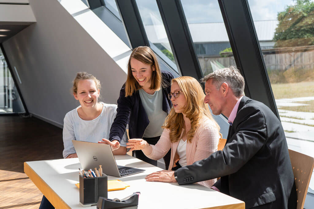 Studierende des MBA Sustainability Management