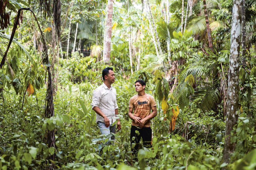 Vanillebauern in Madagaskar