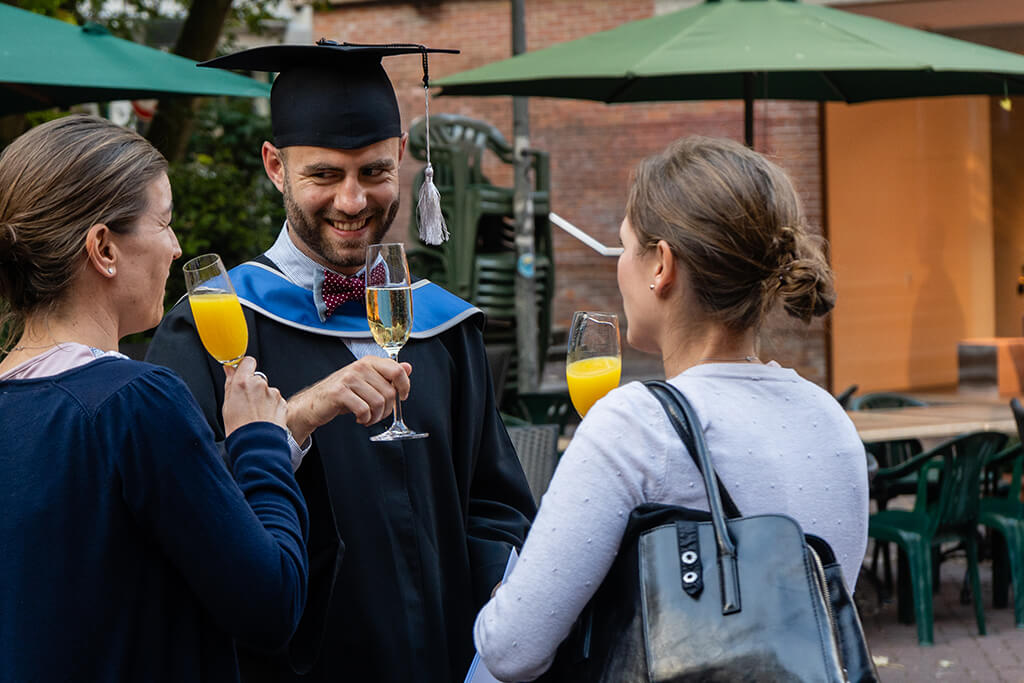 Absolventinnen bei den Home Coming Days 2018 MBA Sustainability Management