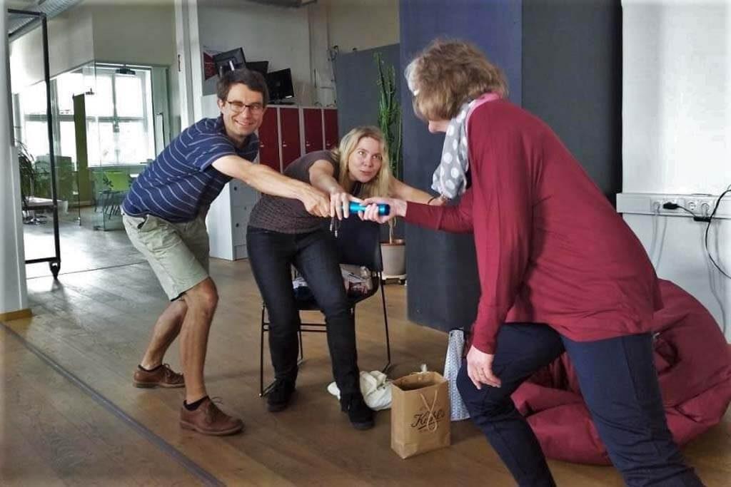 Übergabe des Studienreise-Staffelstabs: Nächstes Mal geht's nach Oldenburg