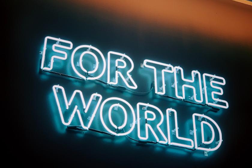 """""""For the world"""" - Corona und Nachhaltigkeit - Impulse"""