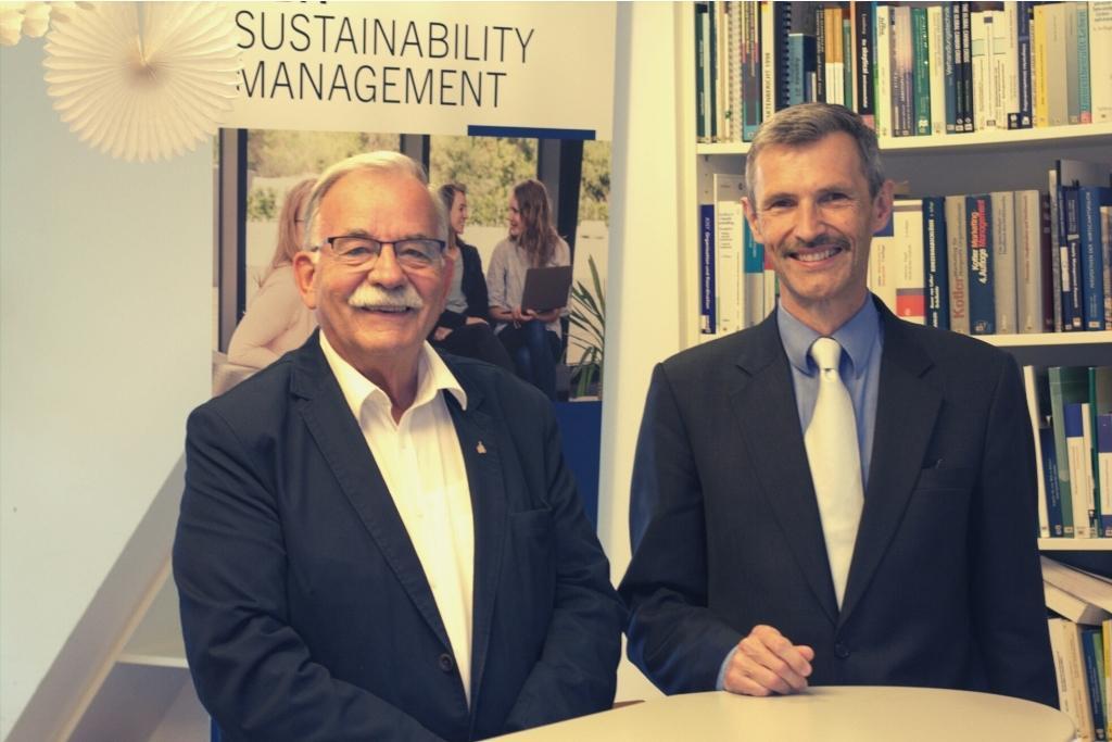Titelverleihung MBA Sustainability_Management Kolle Schaltegger